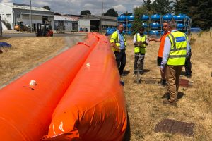 temporary flood protection barriers