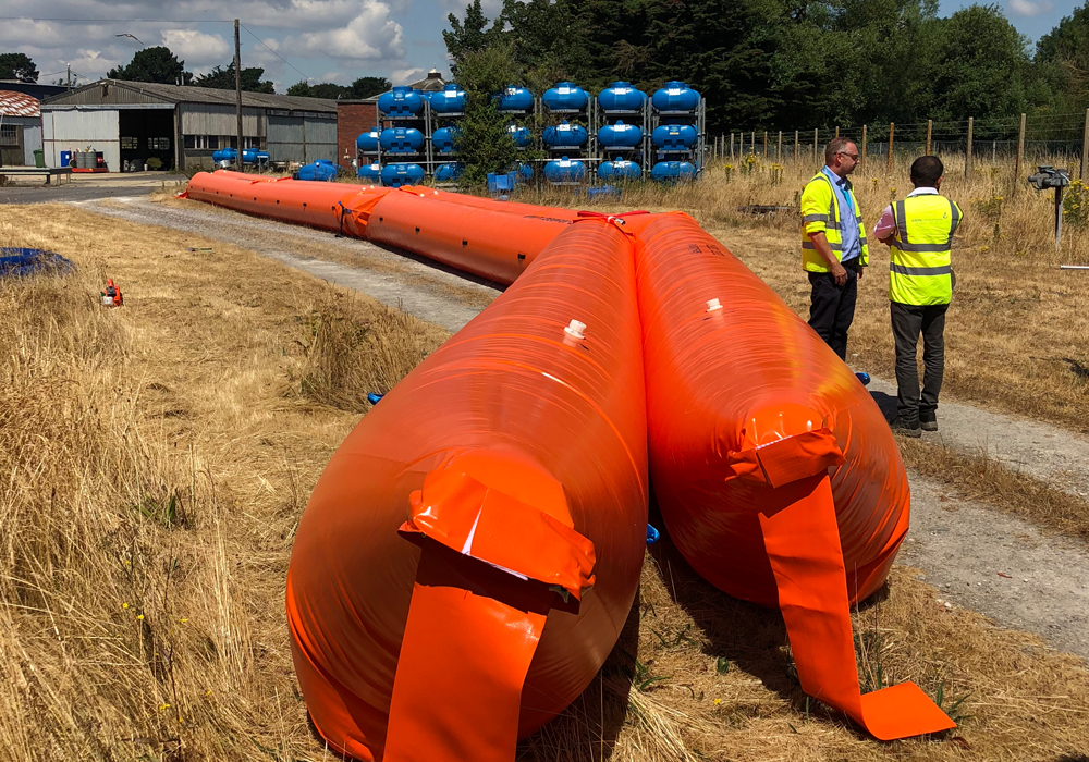Re-usable Heavy-duty Flood Barriers Ireland