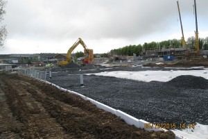 Backfilling Attenuation Tank