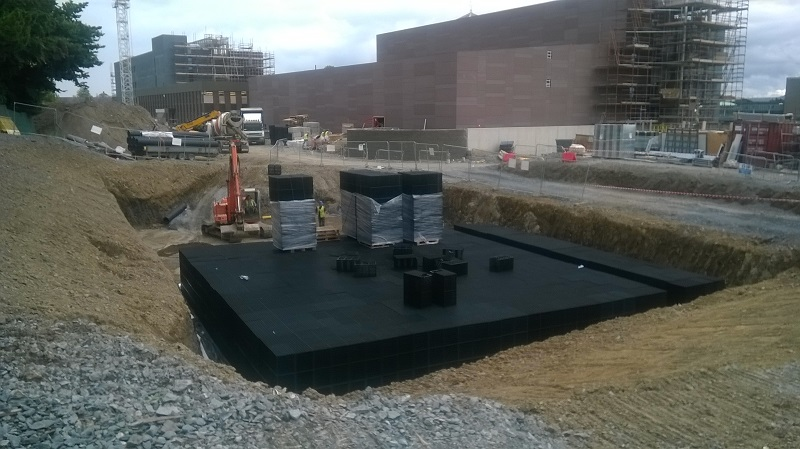 Stormwater Attenuation Tanks Nsai Certified Geoline Ireland
