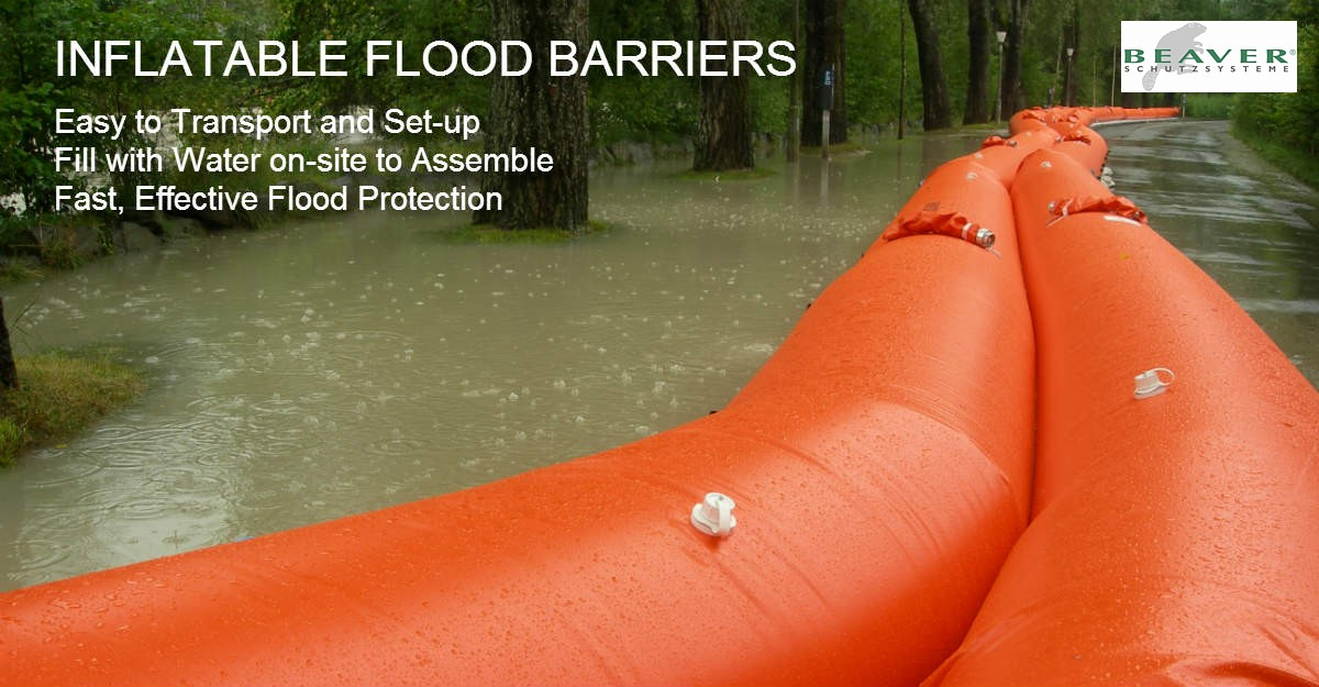 Flood Barriers Uk Amp Ireland Water Filled Inflatable