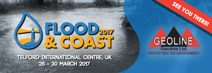 GEOLINE at the flood and coast Expo 2017
