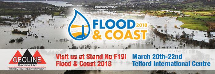 Geoline at Flood Coast Expo 2018