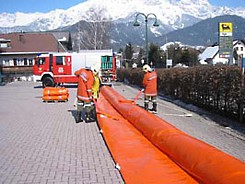 Inflatable Barrier