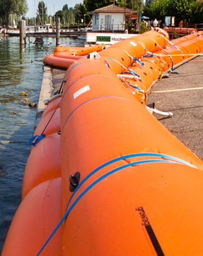 Beaver Type S130 Maximum Protection Inflatable Flood Barrier