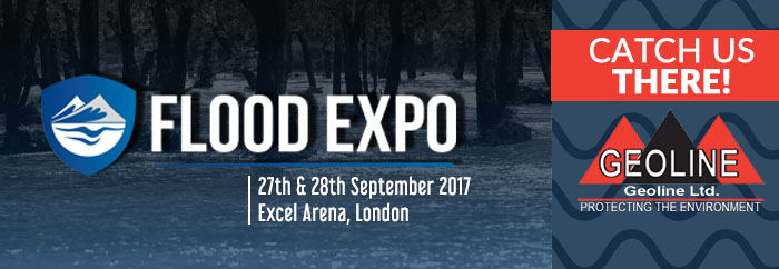 Geoline Showcasing At Flood Expo 2017