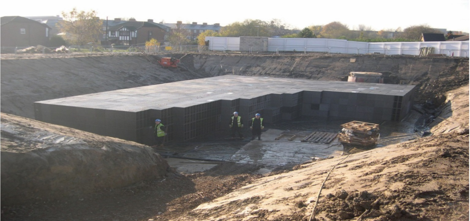 Geoline Stormwater Attenuation Tanks – NSAI Agrément