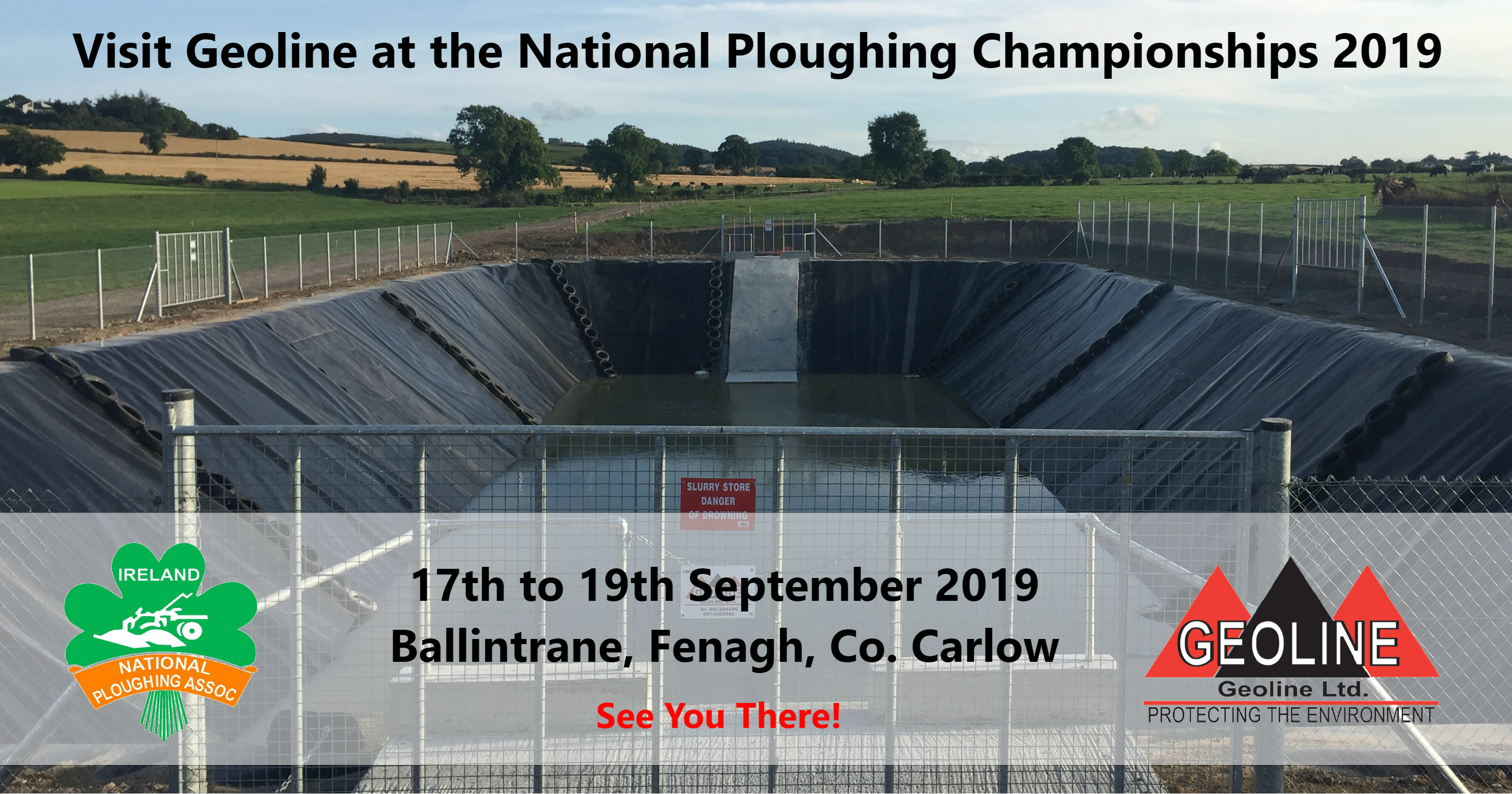 Geoline Will Be Exhibiting At The National Ploughing Championships 2019