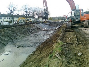 Royal Canal Re-Lining Dublin 4