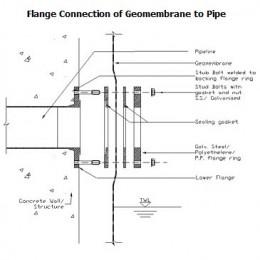 Standarddetails Flangeconnectiondg Geoline Lining